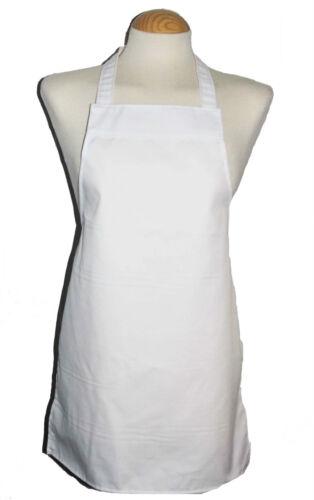 100/% Cotone Grembiuli ** 3 ANNI-adolescente ** Ideale per Scuola//Craft//cottura