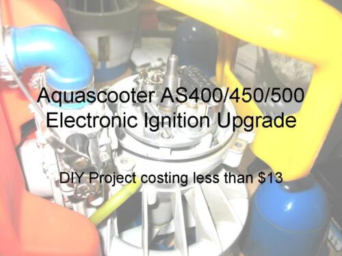 AQUASCOOTER IGNITION MODULE UPGRADE INSTRUCTIONS FOR MODEL AS400 /& AS450 /& AS500