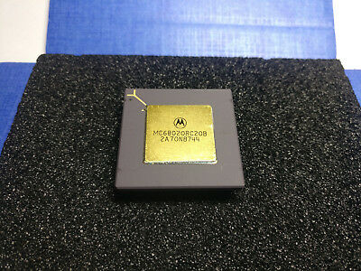 32-bit 20mhz Mc68020rc20b Motorola 68020 microprocessor IC m680x0 1 Core