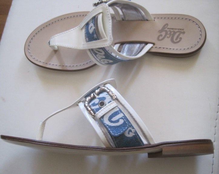D&G Dolce & Gabbana infradito Denim flip flop Scarpe  Denim infradito  Jeans Shoes Schoe New 2b0e4e