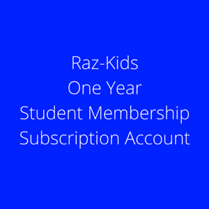 Raz-Kids-Reading-A-Z-Student-Classroom-One-Year-Subscription-Account