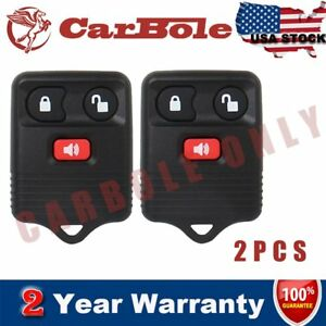 2-Pcs-Car-Key-Fob-Keyless-Entry-Remote-Control-Replacement-Fit-Ford-F150-F-250