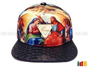 Image is loading Hater-Snapback-Jesus-Genesis-Muriel-with-Snakeskin-Brim- 3c77c3c123f