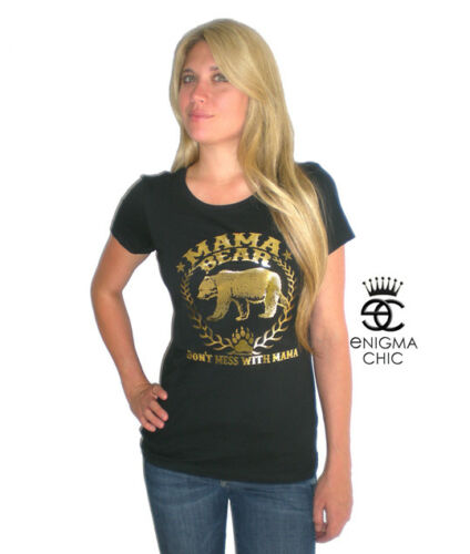 MAMA BEAR T-SHIRT GIFT for MOM by Enigma Chic Originals