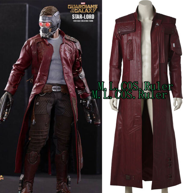Guardians of the Galaxy Peter Quill Star-Lord Cosplay Costume Pants+Belt Inner