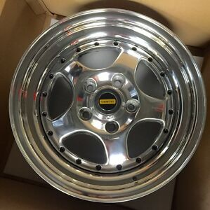 Details about Genuine Original F90 Polished Simmons Wheels Commodore Stud  Pattern Refurbished