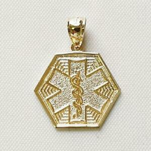 made in USA OCCUPATIONAL THERAPY Medical Pendentif//Charme 14k or Jaune OT