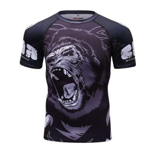 Gorilla Jiu Jitsu Rashguard /& Spats for No Gi and MMA Cody Lundin Sport Shorts