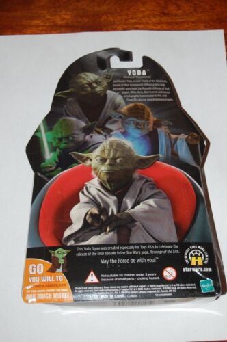 Yoda Holographic-Star Wars Revenge of the Sith-MOC Jedi Master Toys R Us Excl