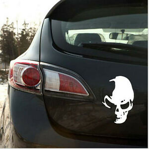 Cool-Funny-Skull-Car-Truck-Wall-Vinyl-Window-Decal-Decals-Sticker-Wall-Decor-XL