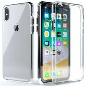 For-iPhone-XS-Max-XR-X-Case-Clear-Transparent-Bumper-Cover-Shockproof-Protective