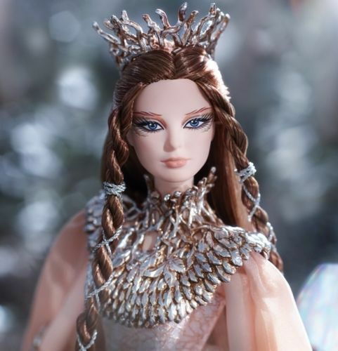 Faraway forest lady of the Weiß woods barbie doll