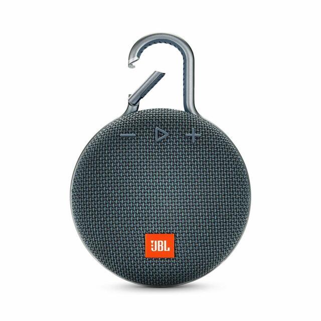 JBL Clip 3 Portable Waterproof Bluetooth Speaker Ocean Blue *Authorized Dealer*