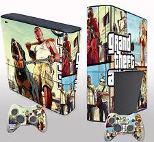 Pop Game Custom Sticker Decals Cover for X box 360 E Console & 2 Controller Skin