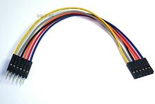 15cm 6pin Male to Female Arduino Jumper Cables Sensor Shield EQUIV - UK seller