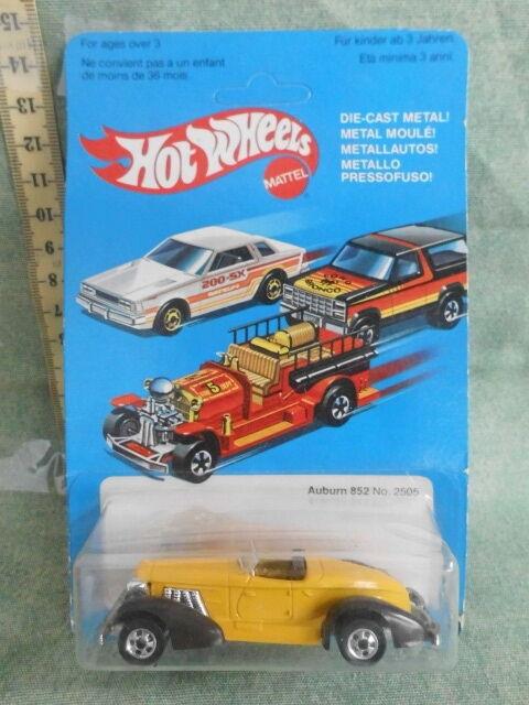 Mattel Hot Wtalons Auburn  852 n.2505 The Hot Ones 1981 Toy Vintage  vente en ligne