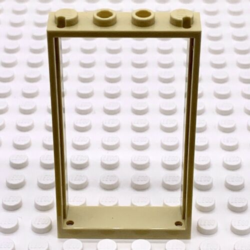 Lego Part 6262949 Door Frame 1x4x6 Tan Brick Yellow 40289 X 1