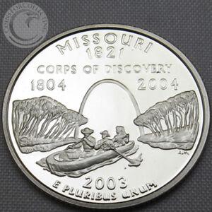 2003-S-BU-MISSOURI-STATE-QUARTER-PROOF-CAMEO-GEM