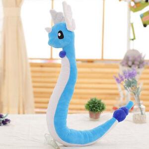 "27"" Pokemon Go Dragonair Dragon Plush Doll Pocket Monster Stuffed Toy Gift"