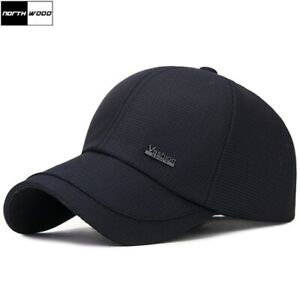 NORTHWOOD-2019-Solid-Men-039-s-Cap-Snapback-Hat-Gorra-Hombre-Trucker-Cap-Outdoor