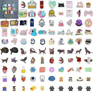 Enamel-Pins-Cartoon-Animal-Fruit-Brooches-Badge-Denim-jeans-Lapel-Pin-Cute-Gift