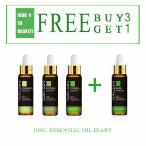 10ML-100-Pure-Parfums-d-039-aromatherapie-naturels-aux-huiles-essentielles