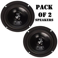 Pack Of (2) Pyle Pdmr5 Car Dj/home Mid Bass Mid Range 400w, 5 Speakers Drivers on sale
