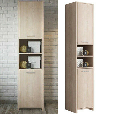 Bathroom Cabinet Tall Cupboard Storage