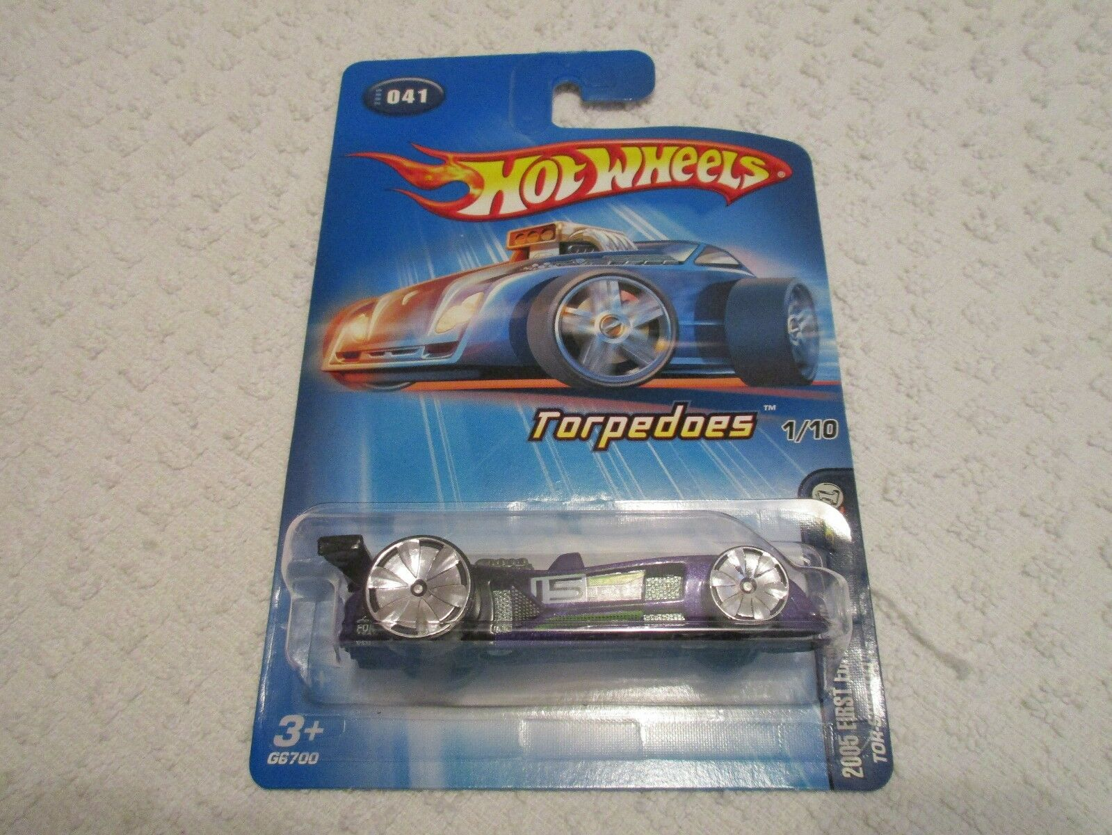 Hot Wtalons Torpedoes 2005 First Editions Tor-Speedo  Special Rims  041 violet  plus abordable