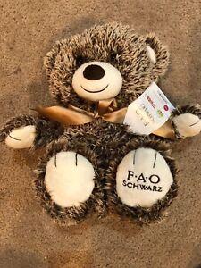 FAO-SCHWARZ-034-Bears-That-Care-034-Teddy-Bear-18-034-Stuffed-Plush-Animal-NWT