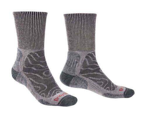 Bridgedale Hike Lightweight Merino Comfort Men Socks Grey