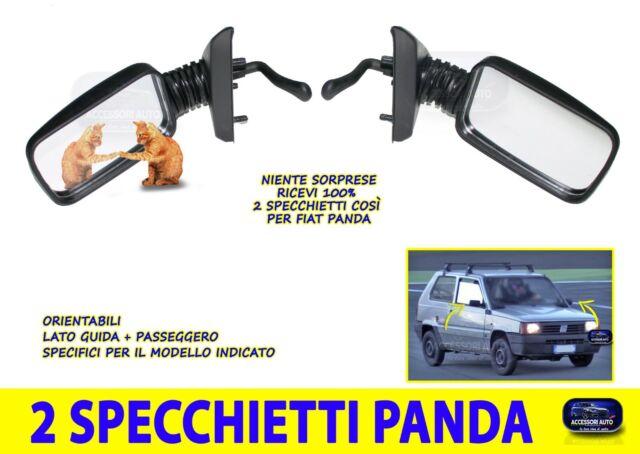 Specchietti retrovisori per Fiat Panda Van Specchio retrovisore Sx Dx auto set 2