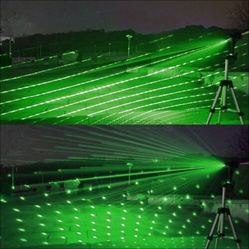 GX6-C 1MW 520nm Green Laser Pointer Visible Lazer Pen/&Battery/&Charger/&Goggles UK