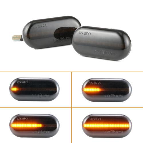 2X LED Dynamische Seitenblinker Blinker für Dacia Duster 1 Dokker 1 Lodgy 1 Opel