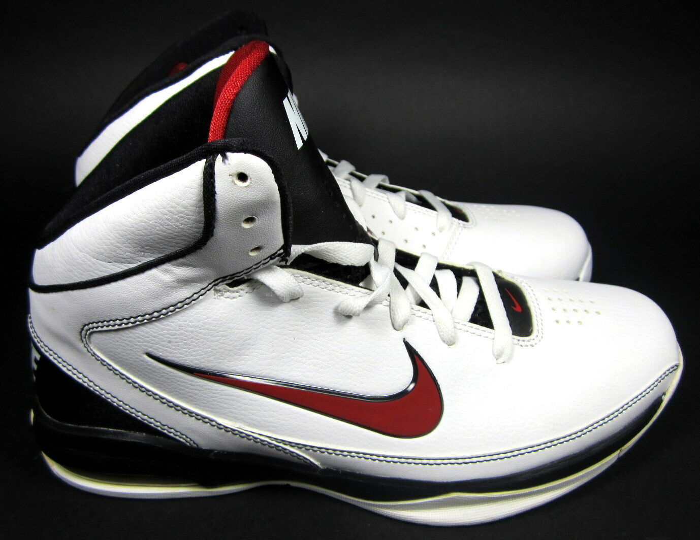 pretty nice 714ba 61707 ... Nike Nike Nike Shoes Air Max Hyped RARE Athletic White Red Black  Sneakers Size ...