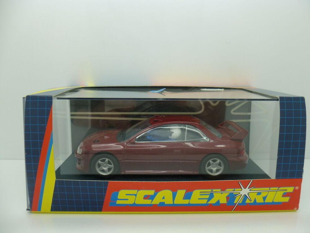 Scalextric C2140 Subaru, edition of 1000, mint unused boxed