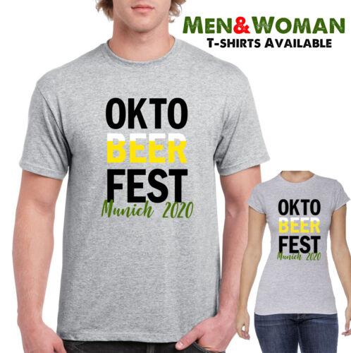 Oktoberfest Munich Germany 2020 Men and women tshirt Party dress fun top tee