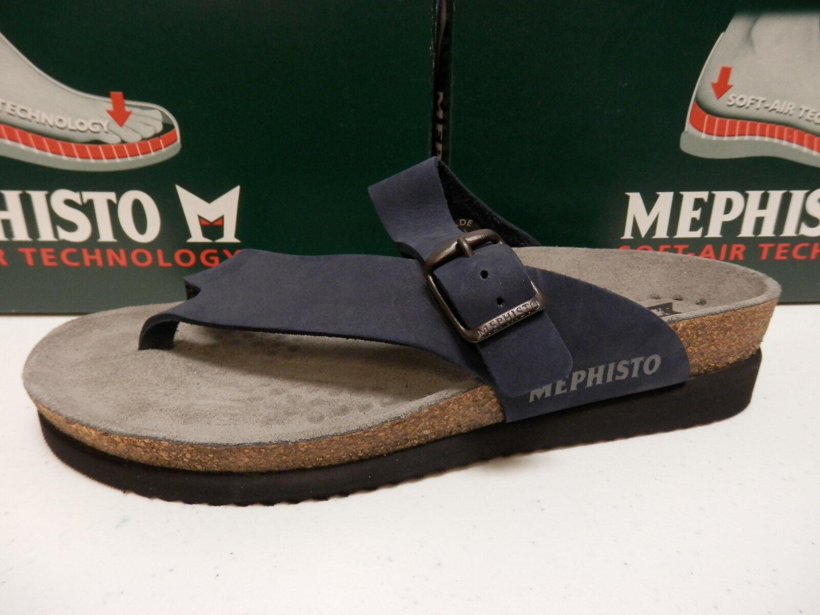 Mephisto mujer sandalia Helen Navy sandalbuck talla EU 37 37 37 nos 7  grandes precios de descuento