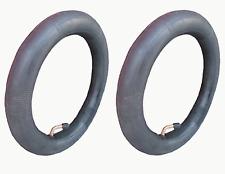 2 x INNER TUBE BENT VALVE PRAM BUGGY STOLLER FOR PHIL & TEDS & QUINNY BUZZ etc