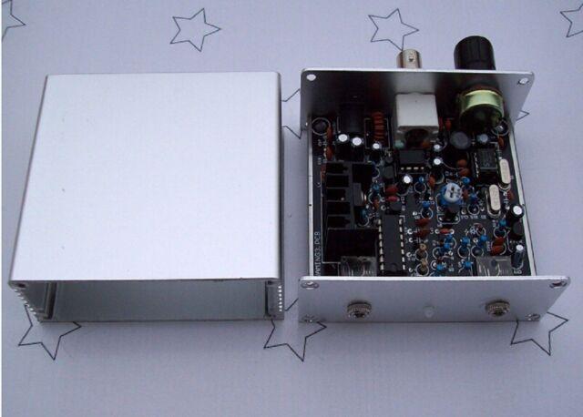 Frog Sounds HAM Radio QRP Telegraph CW Transceiver Radio Station V3 with Case