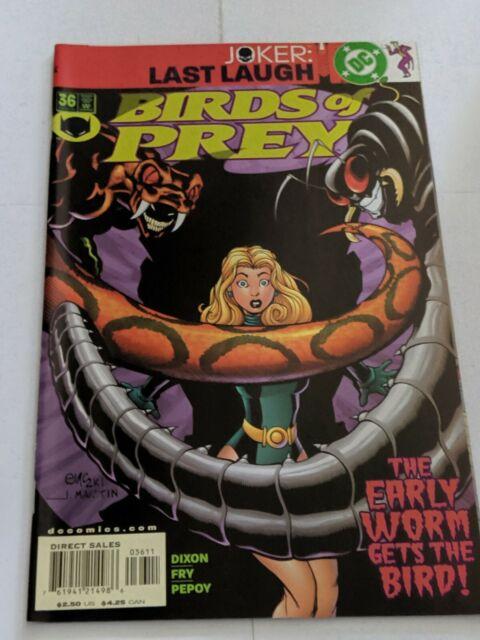 Birds Of Prey #36 December 2001  DC Comics Dixon Fry pepov
