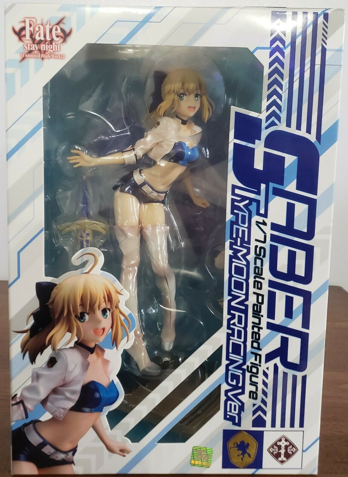 1//7 scale painted finished figure Saber TYPE-MOON RACING Ver