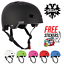 Bullet-Safety-Gear-Skate-BMX-Scooter-Derby-Deluxe-Protection-Helmet miniatuur 1