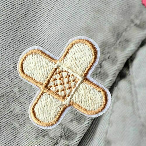 1Pcs Cute Sewing-on Badge Sticker Apparel Applique Patch Iron-on Fabric Ban I7P4