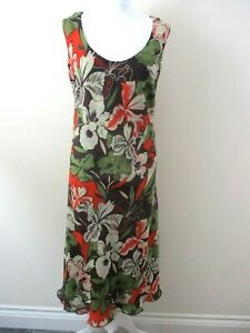 Two-in-one-dress-from-Wardrobe-size-22-abstract-1-dress-1-floral-dress-unusual