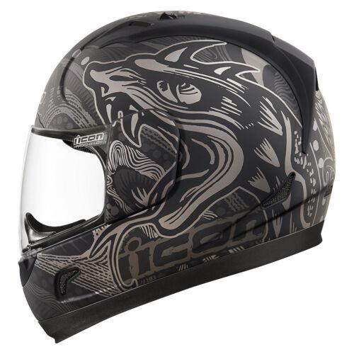 Integral Helm Motorrad Icon Alliance Gold Boros Black Helmet Alle Größen