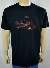 Vtg Miller MGD Bluebirds Band Promo T-Shirt Men's Sz XL 50/50 RARE