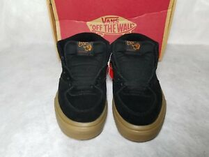 cb6a0696fba9bd New Vans Half Cab Suede Gum Brown Black Skate Mid Shoe Sneaker Men ...