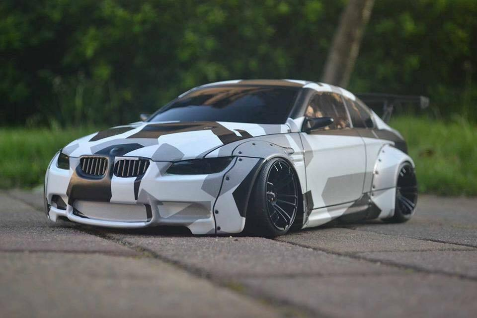 RC Body Karo 1 10 scale model BMW M3 M3 M3 e92 Wide Body to fit Tamiya MST Yokomo 7e5466