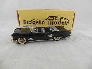 Brooklin Models Brk25x 1958 Pontiac Bonneville Pacific Coast Toy Show 1990 Noir